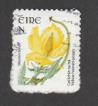 Stamps Ireland -  Amapola amarilla