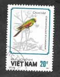Sellos del Mundo : Asia : Vietnam : 1859 - Loros