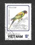 Stamps Vietnam -  1858 - Loros