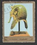 Stamps El Salvador -  Máscara funeraria faraón