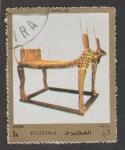 Stamps United Arab Emirates -  Cama funeraria