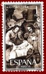 Stamps Spain -  Edifil 1630 Navidad 1964 1