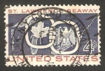 Stamps United States -  670 - Inauguracion del via maritima de San Laurent