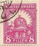 Sellos de Europa - Hungría -  MAGYARORSZAG