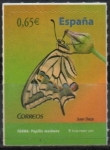 """Stamps of the world : Spain :  Fauna """" Argynnis adipe  """""""