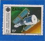 Stamps Democratic Republic of the Congo -  Año Mundial de las Comunicaciones