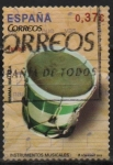 """Stamps of the world : Spain :  Instrumentos Musicales """" Tambor """""""