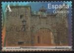 "Stamps of the world : Spain :  Arcos y Puertas Monumentales "" Arco d´l´malena Tarancon Cuenca """