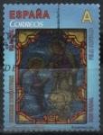 sellos de Europa - España -  Vidriera del nacimiento
