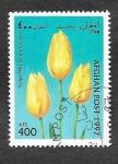 Sellos de Asia - Afganistán -  Tulipan