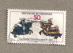 Stamps Germany -  Torneo medieval