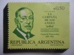Stamps of the world : Argentina :  La Campaña de los Andes - Carlos Alberto Pueyrredon 1887-1962-