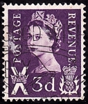 Stamps United Kingdom -  Isabel II-Impuesto postal