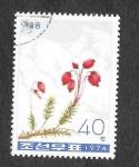 Sellos de Asia - Corea del norte -  1264 - Plantas Alpinas