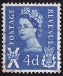 Sellos de Europa - Reino Unido -  Isabel II-Impuesto postal