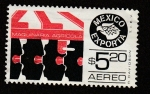 Stamps of the world : Mexico :  Mexico exporta