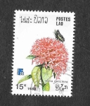 Stamps Laos -  872 - Flores