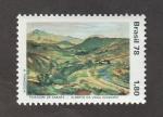 Stamps Brazil -  Paisaje de Saara