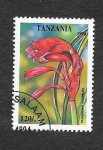 Stamps : Africa : Tanzania :  1305 - Cyrtanthus