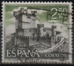 "Stamps of the world : Spain :  Castillos d´España ""Sobroso Pontevedra"""