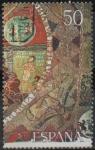 Stamps of the world : Spain :  Tapiz d´l´Creacion, Gerona