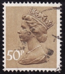 Stamps United Kingdom -  BÁSICOS -Isabel ll