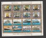 Stamps United Arab Emirates -  Hovercraft