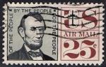 Sellos de America - Estados Unidos -  60 - Abraham Lincoln