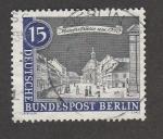 Sellos de Europa - Alemania -  calle Mauerstrasse de Berlín en 1780