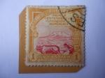 Stamps Ecuador -  Primer Centenario de la Fundaciíon de la República, 1830-1930 - Agricultor Arando con Bueyes.