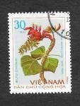 Stamps Vietnam -  758 - Plantas Medicinales