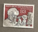Stamps Austria -  Anton Hanak