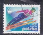 sellos de Europa - Polonia -  OLIMPIADA INNSBRUCK