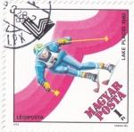 Sellos de Europa - Hungría -  OLIMPIADA LAKE PLACID-80