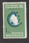 Sellos de Asia - Indonesia -  12 Conferencia Anual de la asociacion de viajes de la zona Pacífico