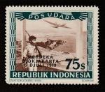 Stamps : Asia : Indonesia :  Aeropuerto de Jakarta