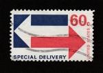 Stamps : America : United_States :  Entrega especial