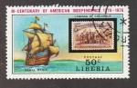 Stamps : Africa : Liberia :  Bicentenario de la independencia de USA