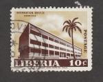 Stamps : Africa : Liberia :  Servicio de información en Monrovia