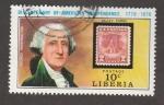 Stamps : Africa : Liberia :  Jorge Washington