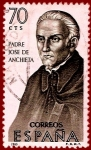 Sellos del Mundo : Europa : España : Edifil 1679 Padre José de Anchieta 0,70