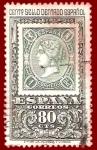 Sellos del Mundo : Europa : España : Edifil 1689 Centenario del sello dentado español 0,80