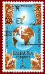 Sellos del Mundo : Europa : España : Edifil 1695 Clausura Concilio Vaticano II 1