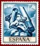 Sellos del Mundo : Europa : España : Edifil 1715 La audacia (Sert) 1,50
