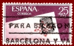 Sellos del Mundo : Europa : España : Edifil 1723 Día mundial del sello 1966 0,25