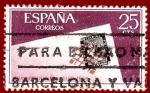 Stamps Europe - Spain -  Edifil 1723 Día mundial del sello 1966 0,25