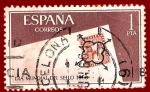 Sellos del Mundo : Europa : España : Edifil 1724 Día mundial del sello 1966 1