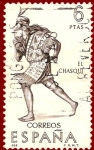 Stamps : Europe : Spain :  Edifil 1757 El Chasqui 6