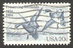 Stamps : America : United_States :  1539 - Patos salvajes