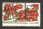 Stamps United States -  1611 - Flores